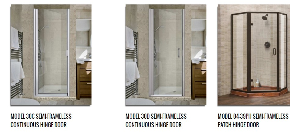 Pivot and Hinge Doors. & Frameless Shower Door - Houston Showers Doors - Houston Commercial Glass